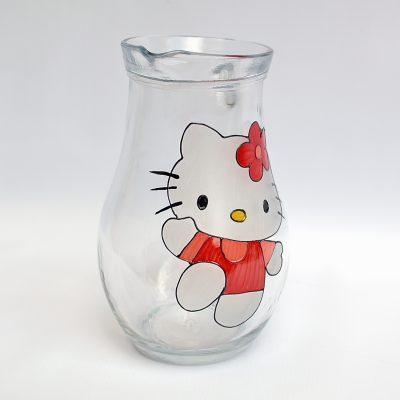 Cană pentru botez Hello Kitty