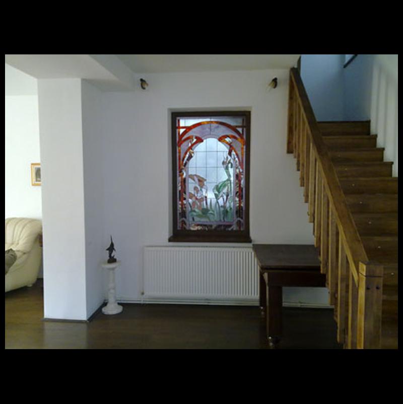Vitraliu Art Nouveau